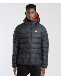 d45ed6b8acb9 Men s Black Puffer Jackets by Nike