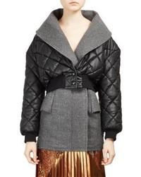 Stella McCartney Alter Nappa Cropped Puffer Jacket