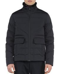 Fendi Basic Nylon Puffer Jacket Black