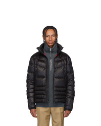 MONCLER GRENOBLE Black Canmore Puffer Jacket
