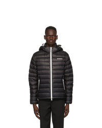 Burberry Black Down Barnet Jacket