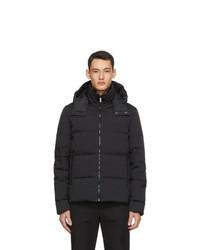 Fendi Black Down Forever Jacket