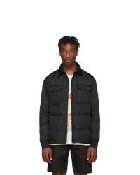 Moncler Black Down Gruss Jacket