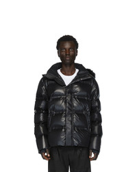Fendi Black Down Hooded Jacket