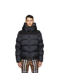 Burberry Black Down Lockwell Jacket