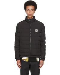 Versace Black Down Medusa Puffer Jacket