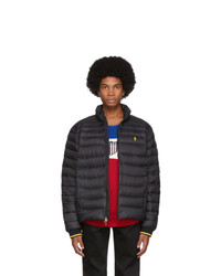 Polo Ralph Lauren Black Down Packable Quilted Jacket
