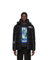 Heron Preston Black Down Puffer Jacket