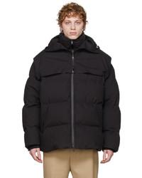 Bottega Veneta Black Down Puffer Jacket
