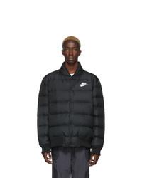 Nike Black Down Sportswear Bomber
