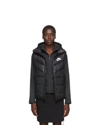 Nike Black Down Windrunner Vest