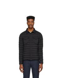 Herno Black Nylon Matte Jacket