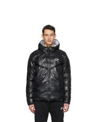 Nike Black Padded Windrunner Jacket