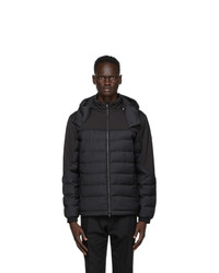 Z Zegna Black Puffer Jacket