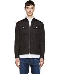 DSQUARED2 Black Puffer Shirt Jacket