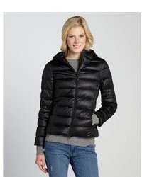 Moncler Black Quilted Down Filled Puffer