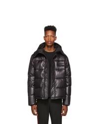 Kenzo Black Shiny Nylon Down Jacket