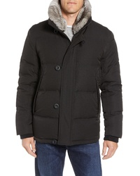 Andrew Marc Bryant Genuine Rabbit Down Jacket