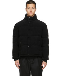 Saint Laurent Corduroy Down Puffer Jacket