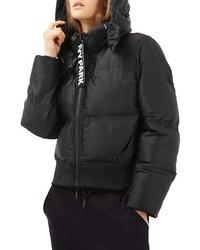 Ivy Park Crop Hooded Puffer Jacket