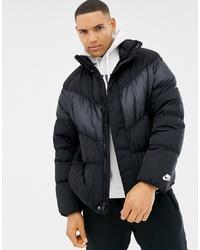 Nike Down Jacket In Black 928893 010