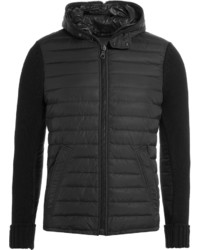 Duvetica Down Jacket With Knit Sleeves