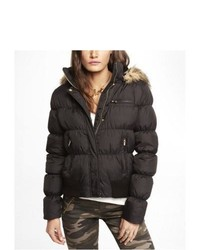 Express Down Filled System Puffer Jacket Black Medium