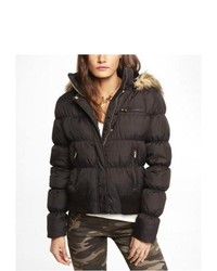 Express Down Filled System Puffer Jacket Black Small