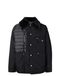Maison Margiela Furry Collared Coat