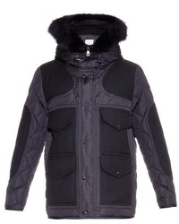 Moncler Gaumont Hooded Quilted Down Jacket