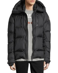 Moncler Grenoble Collection Valloire Down Jacket Black