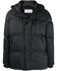 Calvin Klein Jeans Hooded Feather Down Puffer Coat