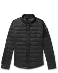 Canada Goose Jackson Slim Fit Quilted Nylon Down Shirt Jacket