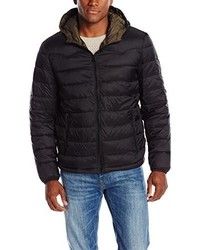 Levi's Nylon Lightweight Hooded Puffer Jacket