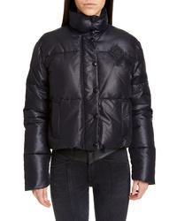 Givenchy Logo Crop Puffer Jacket