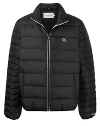 Calvin Klein Jeans Logo Embroidered Padded Jacket