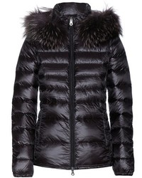 Duvetica Nefele Down Jacket With Fur Trimmed Hood