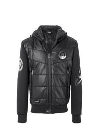 Plein Sport Patch Detail Puffer Jacket