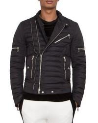 Balmain Puffer Moto Jacket