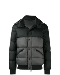 Emporio Armani Quilted Hooded Down Jacket