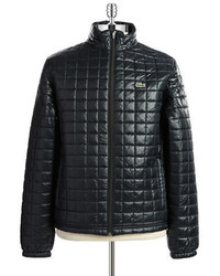 Lacoste Quilted Waterproof Puffer Coat