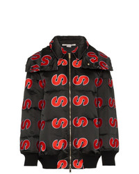 Stella McCartney S Embroidered Hooded Puffer Jacket