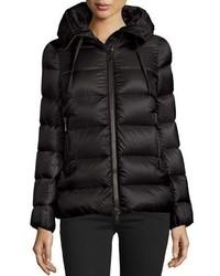 Moncler Serinde Hooded Short Puffer Jacket