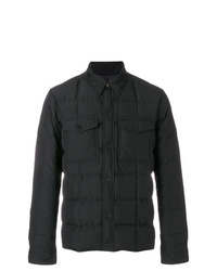 AMI Alexandre Mattiussi Snap Buttonned Quilted Jacket