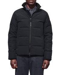 Canada Goose Woolford Slim Fit Down Bomber Jacket