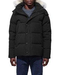 Canada Goose Wyndham Fusion Fit Genuine Coyote Down Jacket