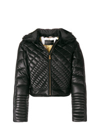 Versace Zipped Quilted Jacket