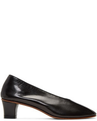 Martiniano Black High Glove Heels
