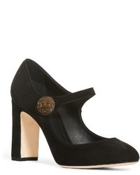 Dolce & Gabbana Dolcegabbana Button Mary Jane Pump
