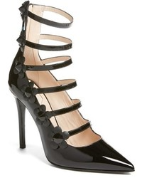 Fendi Flowerland Strappy Pump